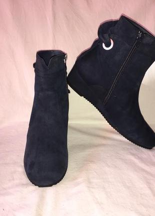 Ботинки *di lauro* кожа германия р.38 ( 25.00 см)