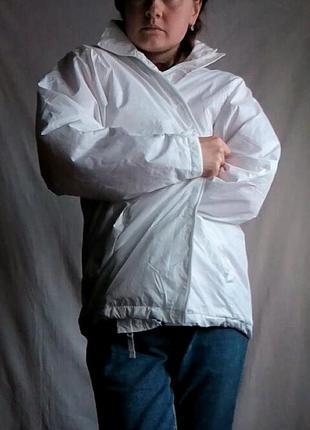 Куртка ветровка на флисе, можно как лыжная