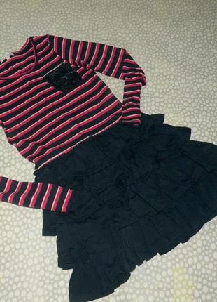Очень красивое платье 8-9 лет