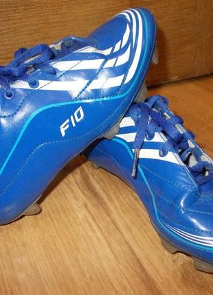 Футбольные бутсы копочки сороконожки adidas р. 34 стелька 21,5см