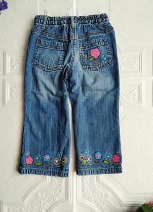 Демисезонные утепленные прямые джинсы george4 фото