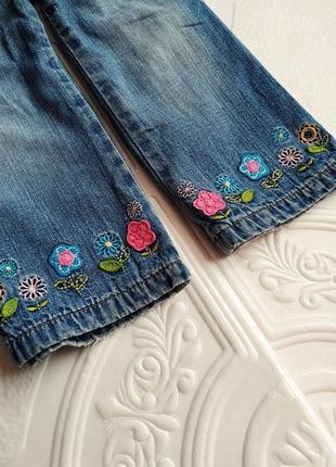 Демисезонные утепленные прямые джинсы george2 фото