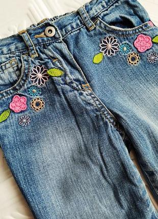 Демисезонные утепленные прямые джинсы george3 фото
