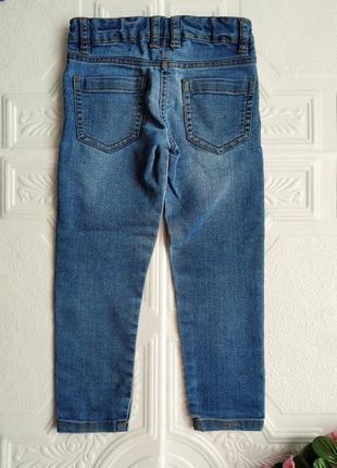 Зауженные джинсы скинни girls denim4 фото