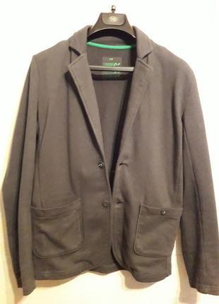 Подростковый трикотажный пиджак