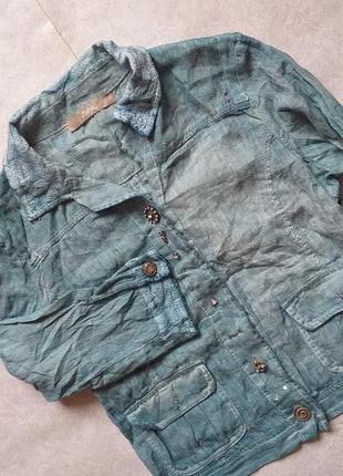 Легкая летняя куртка от люксового бренда bottega, xxl