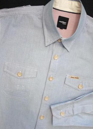 Стильная фирменная рубашка