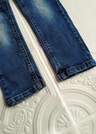 Зауженные джинсы скинни с вышивкой e-vie angel2 фото