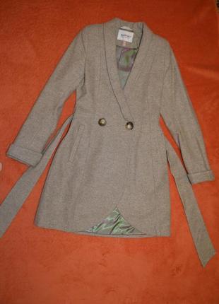 Пальто шерстяное natiso
