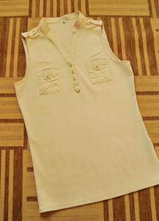 Massimo dutti, оригинал, блузка, поло, майка, размер s.
