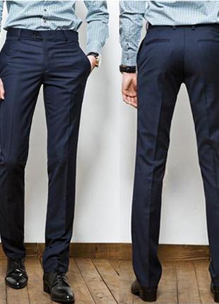 2c35d2cec249 Прямые классические мужские брюки 2019 - купить недорого мужские ...
