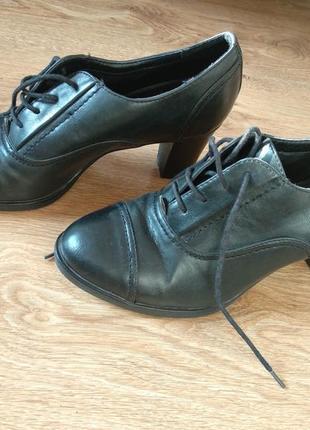 Ботинки на шнуровке весна осень