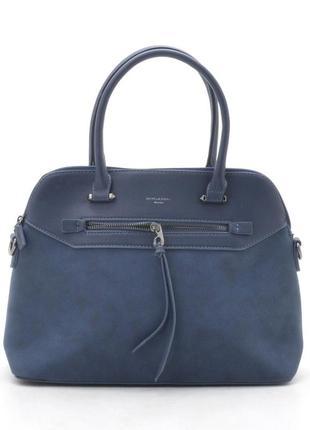 Новая синяя женская сумка
