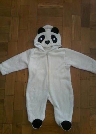 Комбинезон панда рост 80 см