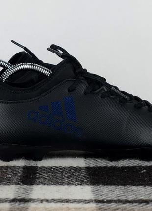 Бутсы футбольные adidas x 17.3 fg original 38.5 копочки шиповки