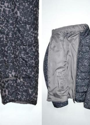 Куртка демисезонная двустороняя леопардовый принт laura .4 фото