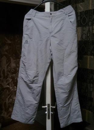 Трекинговые штаны salomon туристические