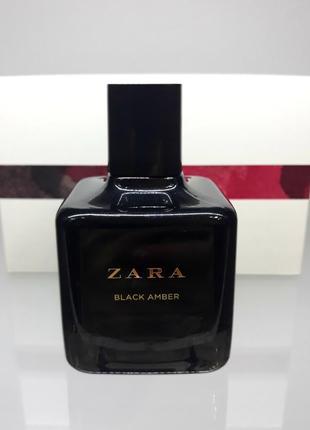 Духи zara black amber 100 мл