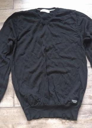 Идеальный унисекс шерстяной базовый пуловер peakperformance оригинал
