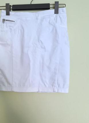 Стрейчова джинсовая юбка