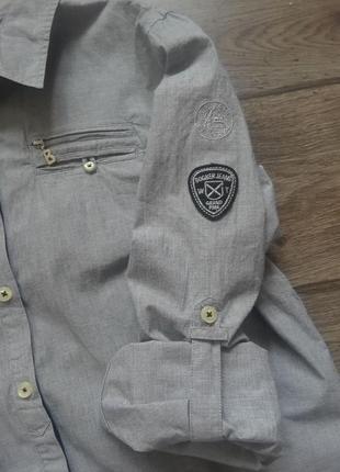 Стильная сорочка bogner jeans. оригинал