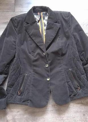 № 6. жакет пиджак блейзер куртка marc cain. оригинал