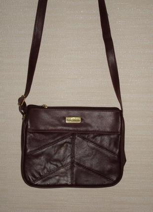 ✨💫 сумка женская через плечо шоколадного цвета ted lapidus ✨💫✨