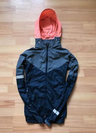 Оригинальная куртка ветровак nike с рефлективами