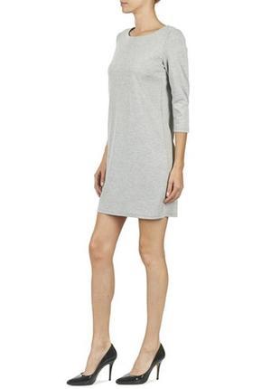 Базовое серое платье vila clothes