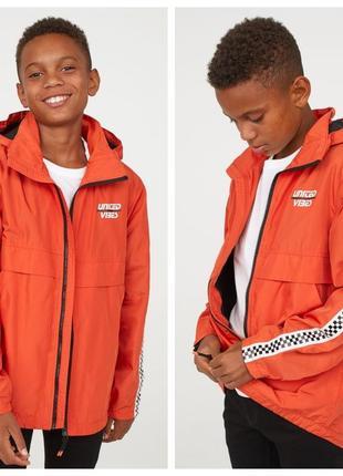Стильна курточка вітрівка на флісі від h&m німеччина