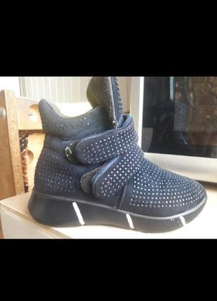 Ботинки в стразах
