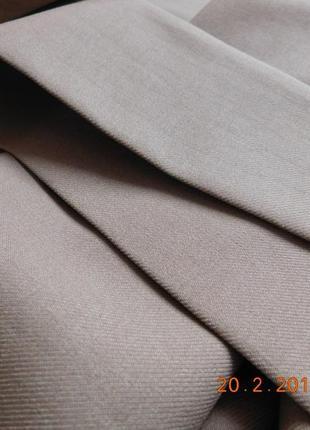 Шерстяные шторы + тюль с рисунком дамаск8 фото