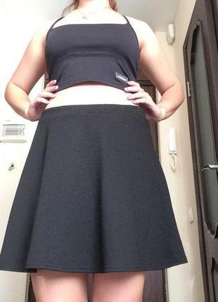 Модная расклешенная юбка ( клеш )