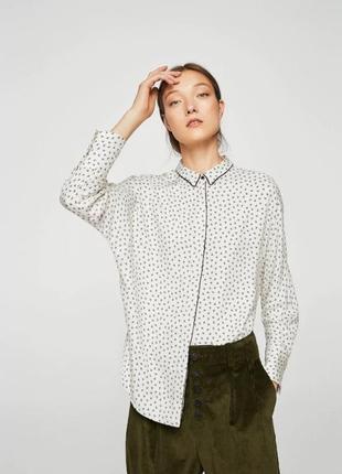 Отличная вискозная рубашка манго