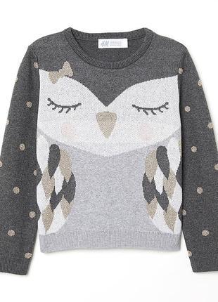 Красивый свитер для девочки нм
