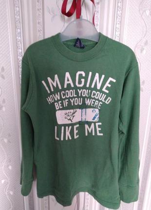 Реглан. свитер, хлопок 9-11 лет хлопок 100%