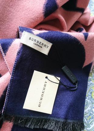 Кашемировый палантин шарф тёплый и стильный