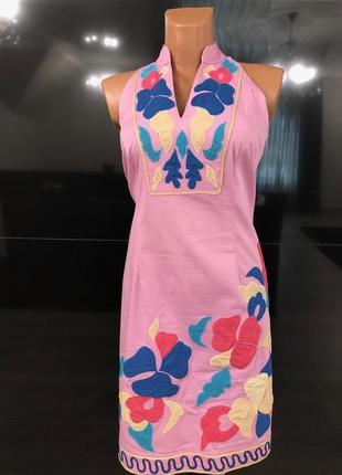 Хлопковое платье испанского бренда niza