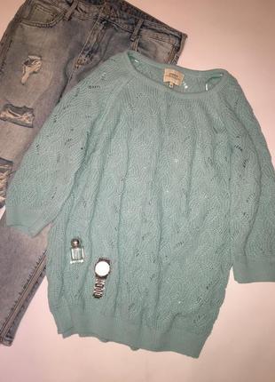Нежный весенний джемпер / мягкий легкий свитер
