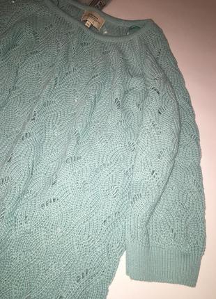 Нежный весенний джемпер / мягкий легкий свитер2 фото