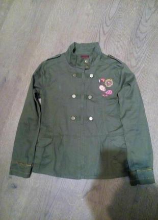 Куртка пиджак 10 лет