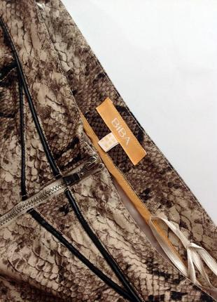 Юбка с принтом питона. культовый бренд biba s-ка3 фото