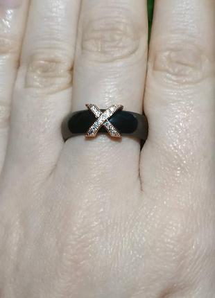 Кольцо керамика колечко цирконий керамическое