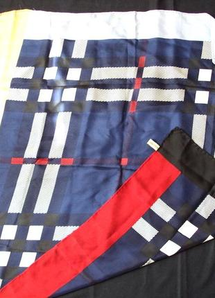 Burberry платек шелк натуральный оригинал