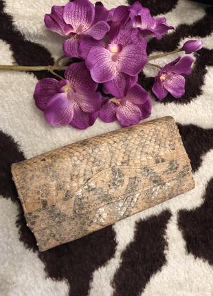 Новый кошелёк из натуральной кожи змеи