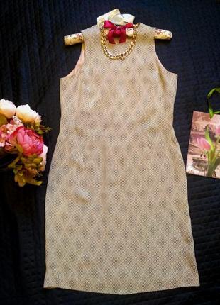 Легкое летнее  платье с принтом размер 12 (42-44)