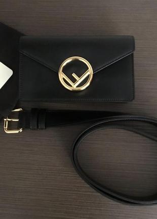 Fendi поясная сумка