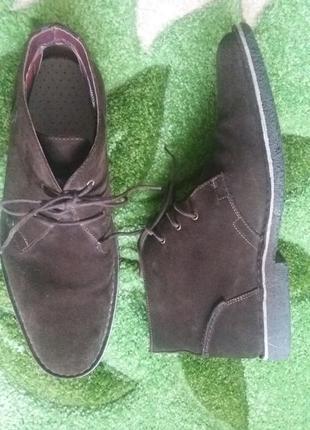 Брендовые ботинки,черевики,100%кожа от tommy hilfiger!!!!