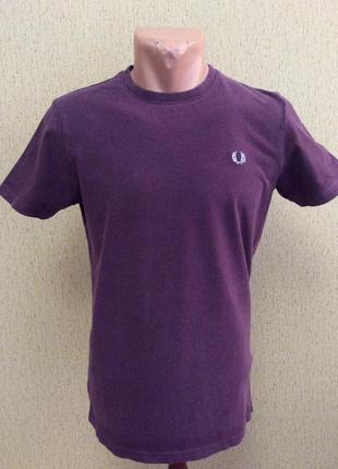 Мужская футболка fred perry slim fit оригинал размер s