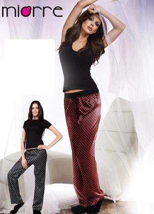 Атласные пижамные штаны большие размеры!!!